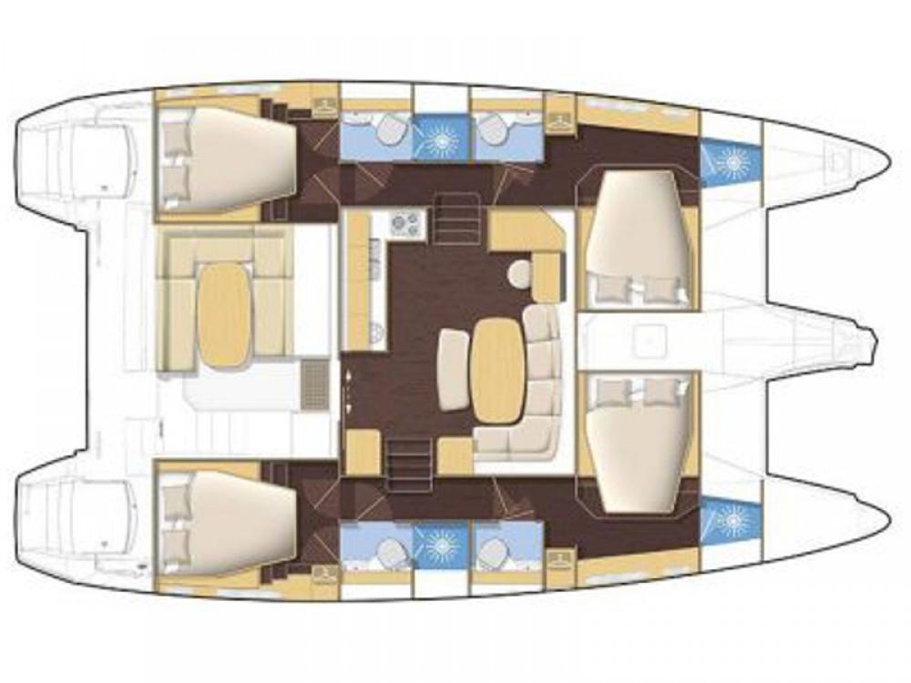 Yacht-Charter in Nikiti - Lagoon Lagoon 420 auf SamBoat
