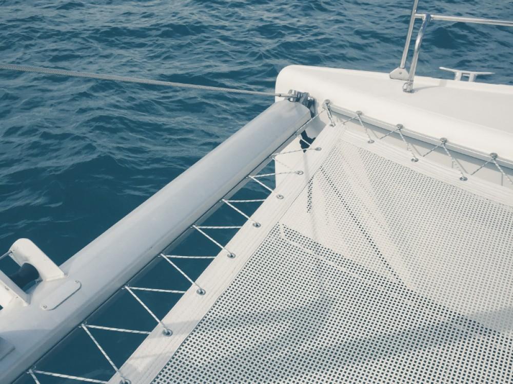 Bootsverleih Nikiti günstig Lagoon 420
