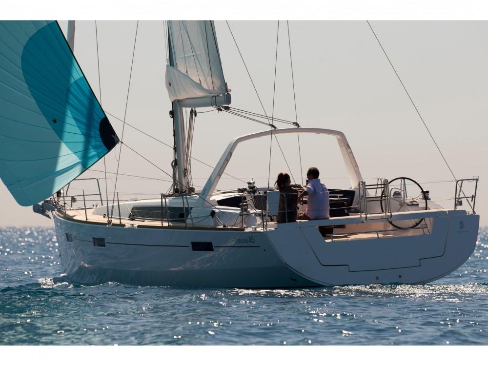 Bootsverleih La Spezia günstig Oceanis 45