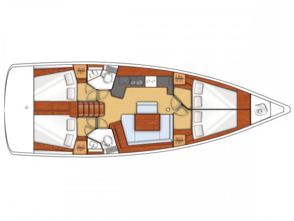 Segelboot mit oder ohne Skipper Bénéteau mieten in La Spezia