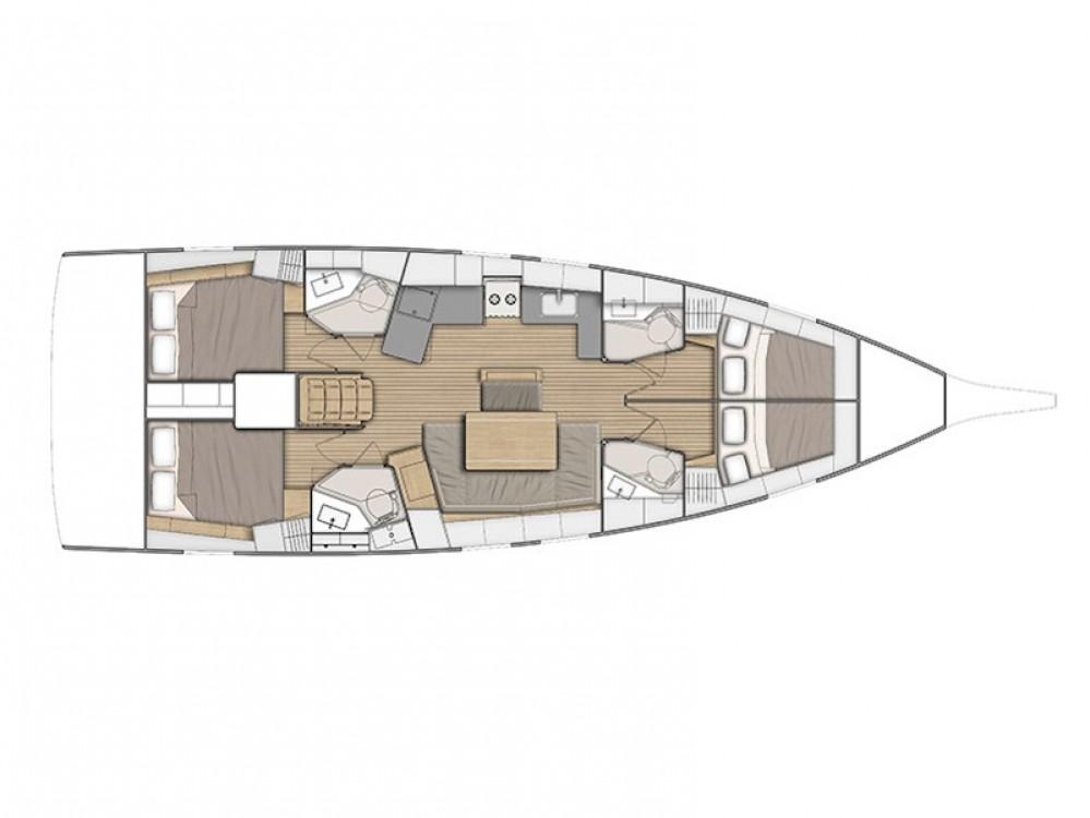 Bootsverleih Volos günstig Oceanis 461