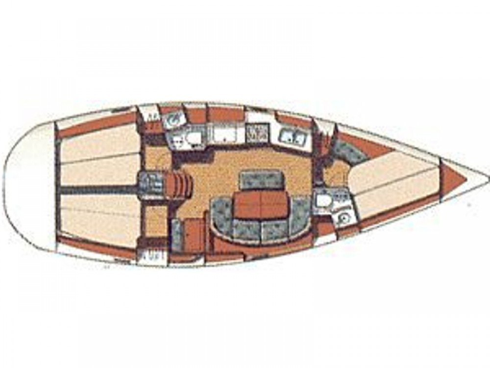 Segelboot mieten in Volos - Bénéteau Oceanis 381