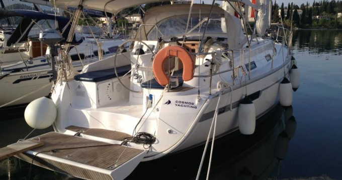 Bavaria Cruiser 36 zwischen Privatpersonen und professionellem Anbieter Gouviá