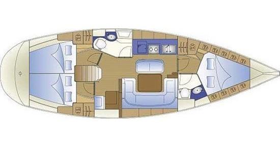Segelboot mieten in Gouviá - Bavaria Bavaria 40 Cruiser