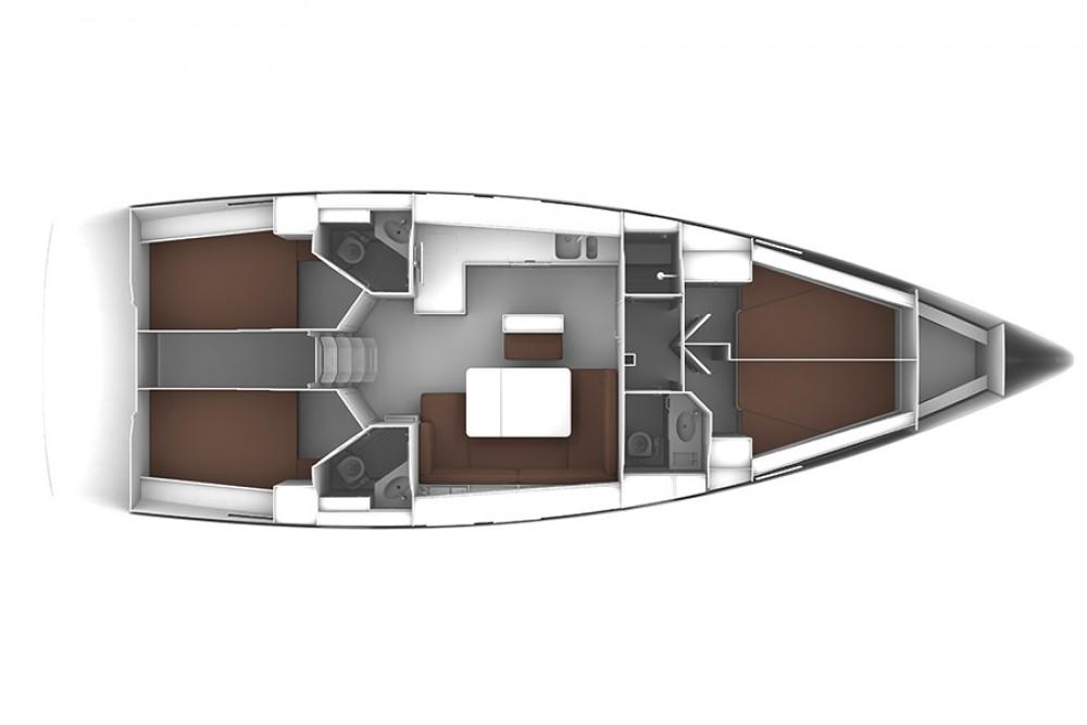 Bootsverleih Sotschi günstig Bavaria Cruiser 46