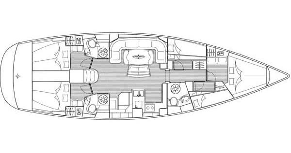 Bootsverleih Athen günstig Bavaria 50 Cruiser