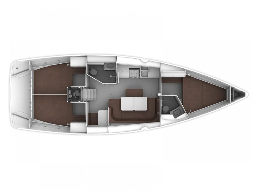 Bavaria Bavaria Cruiser 41 zwischen Privatpersonen und professionellem Anbieter Muğla
