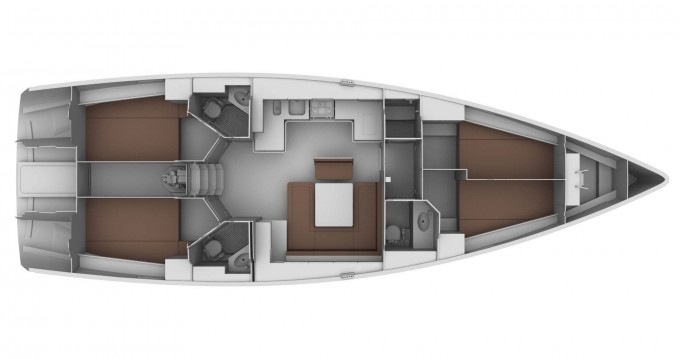 Bootsverleih Bavaria Cruiser 45 Gouviá Samboat