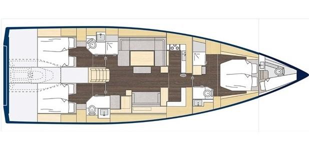 Bootsverleih Bavaria Bavaria C57 Style Gouviá Samboat