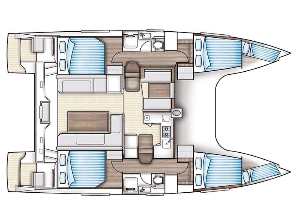 Katamaran mit oder ohne Skipper Nautitech mieten in Rhodos