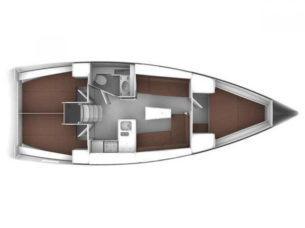 Bootsverleih  günstig Bavaria Cruiser 37