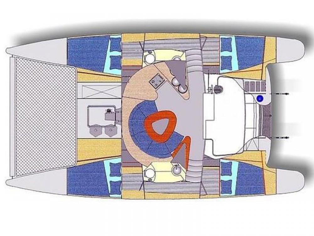 Bootsverleih Fountaine Pajot Athena 38 Ciudad de Cienfuegos Samboat