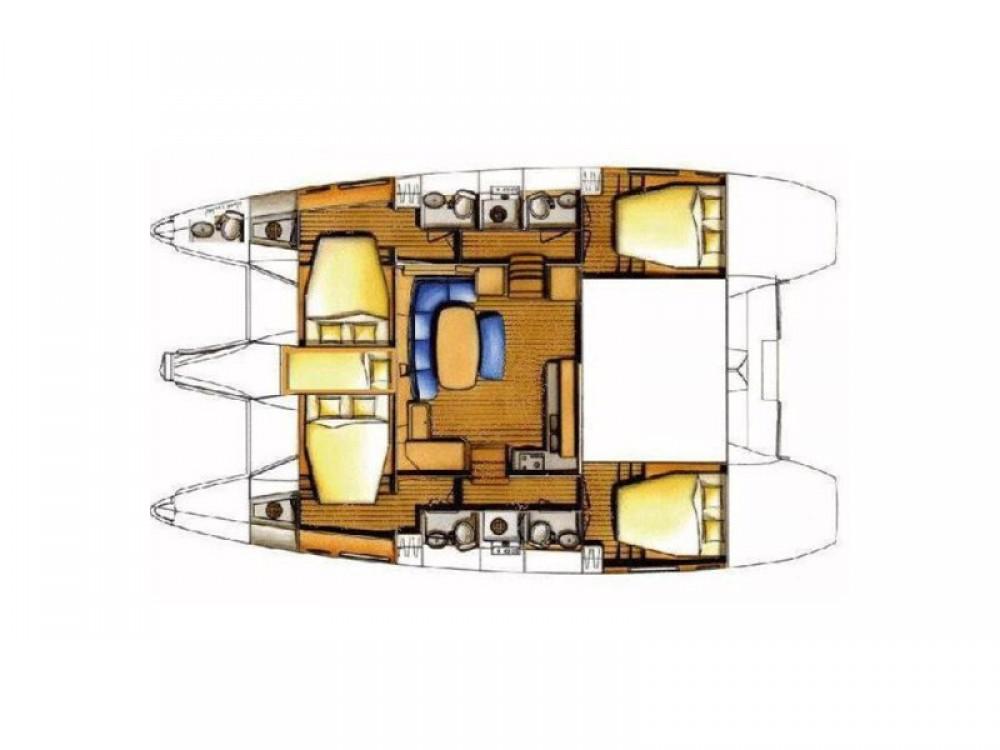 Bootsverleih  günstig Lagoon 421