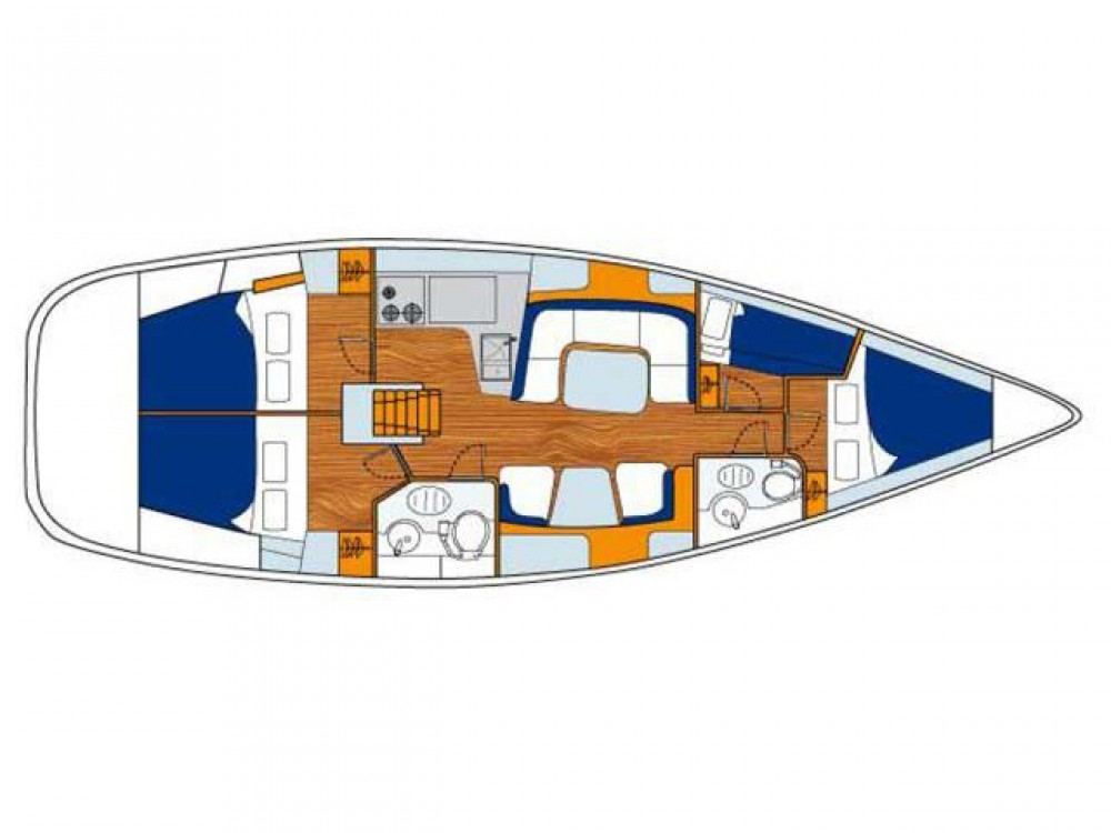 Segelboot mit oder ohne Skipper Jeanneau mieten in Follonica