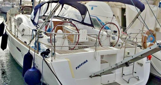 Bénéteau Oceanis 40 zwischen Privatpersonen und professionellem Anbieter Nettuno