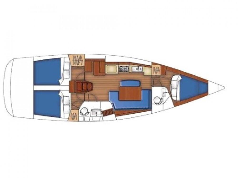 Bootsverleih Nettuno günstig Oceanis 40