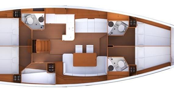 Segelboot mit oder ohne Skipper Jeanneau mieten in Dubrovnik