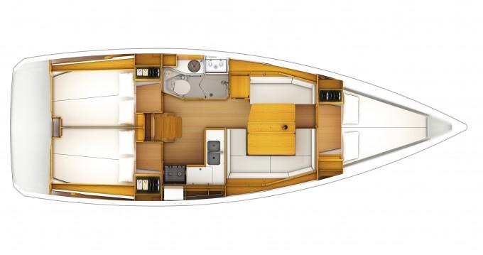Bootsverleih Jeanneau Sun Odyssey 389 Dubrovnik Samboat