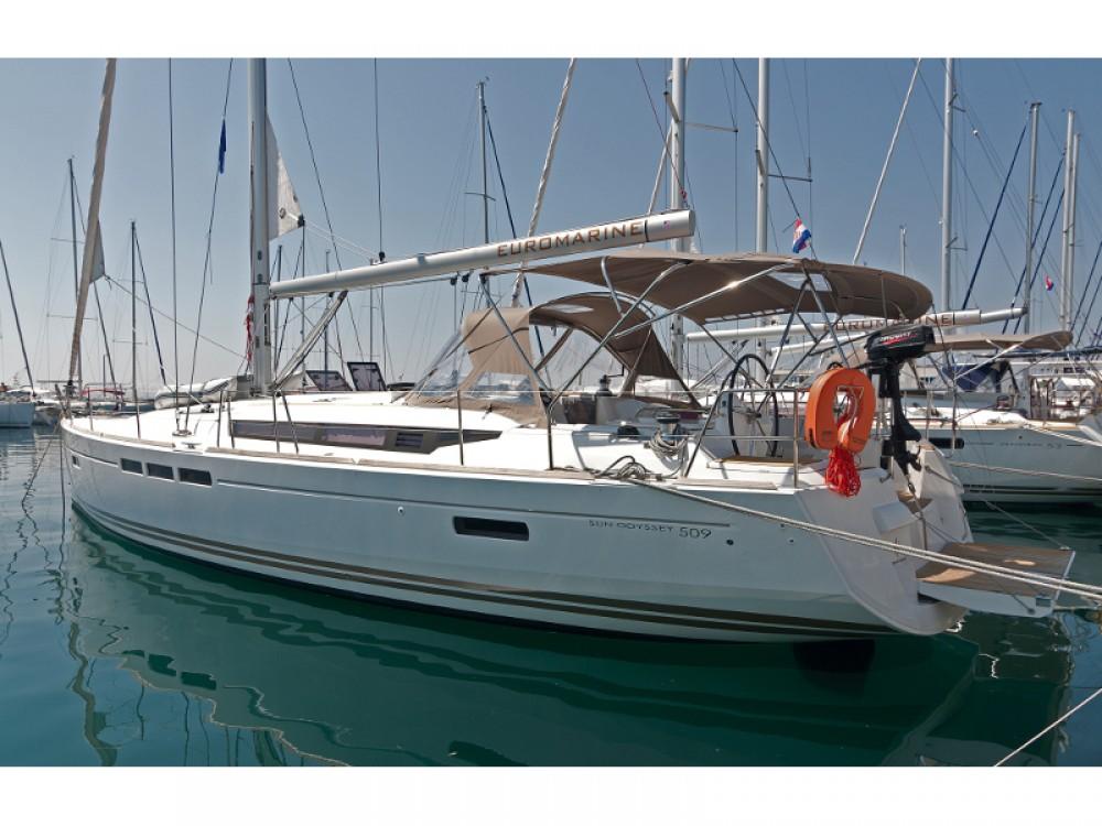 Bootsverleih Split günstig Sun Odyssey 509