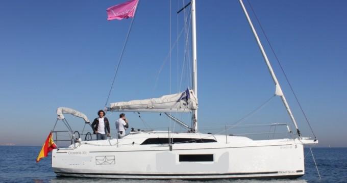 Bootsverleih Valencia günstig Oceanis 30.1