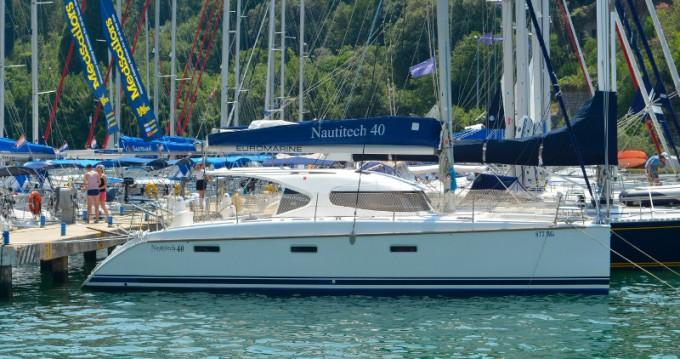 Yacht-Charter in Dubrovnik - Nautitech Nautitech 40 auf SamBoat