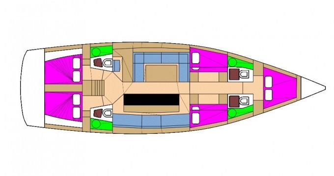 Segelboot mit oder ohne Skipper D&D Yacht mieten in Biograd na Moru