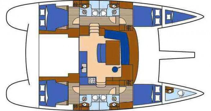 Lagoon Lagoon 440 zwischen Privatpersonen und professionellem Anbieter Trogir