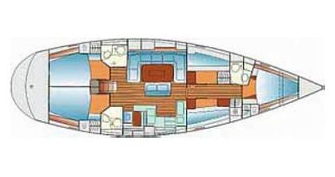 Bavaria Bavaria 50 Cruiser zwischen Privatpersonen und professionellem Anbieter Trogir