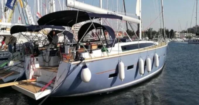 D&D Yacht D&D Kufner 54.2 zwischen Privatpersonen und professionellem Anbieter Trogir