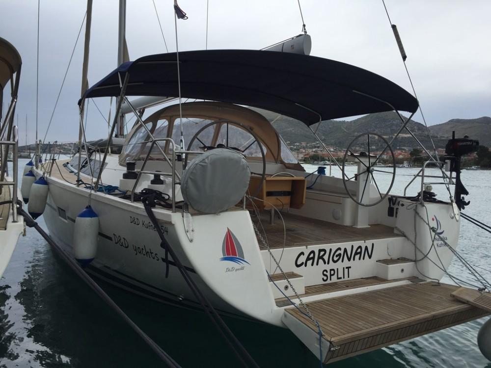 Vermietung Segelboot D&d mit Führerschein