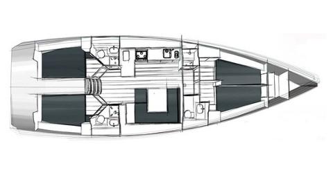 Segelboot mieten in Trogir - Bavaria Cruiser 45