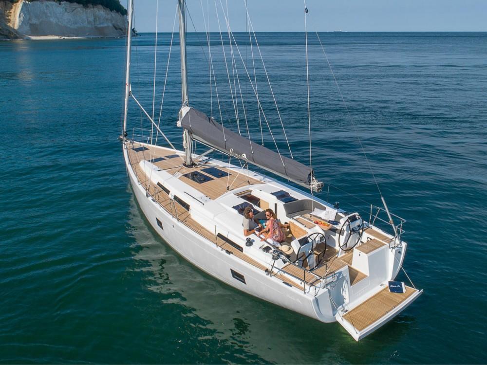 Segelboot mieten in Lavrion - Hanse Hanse 458