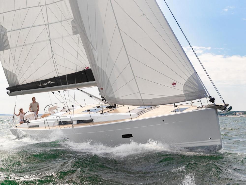Bootsverleih Hanse Hanse 458 Lavrion Samboat
