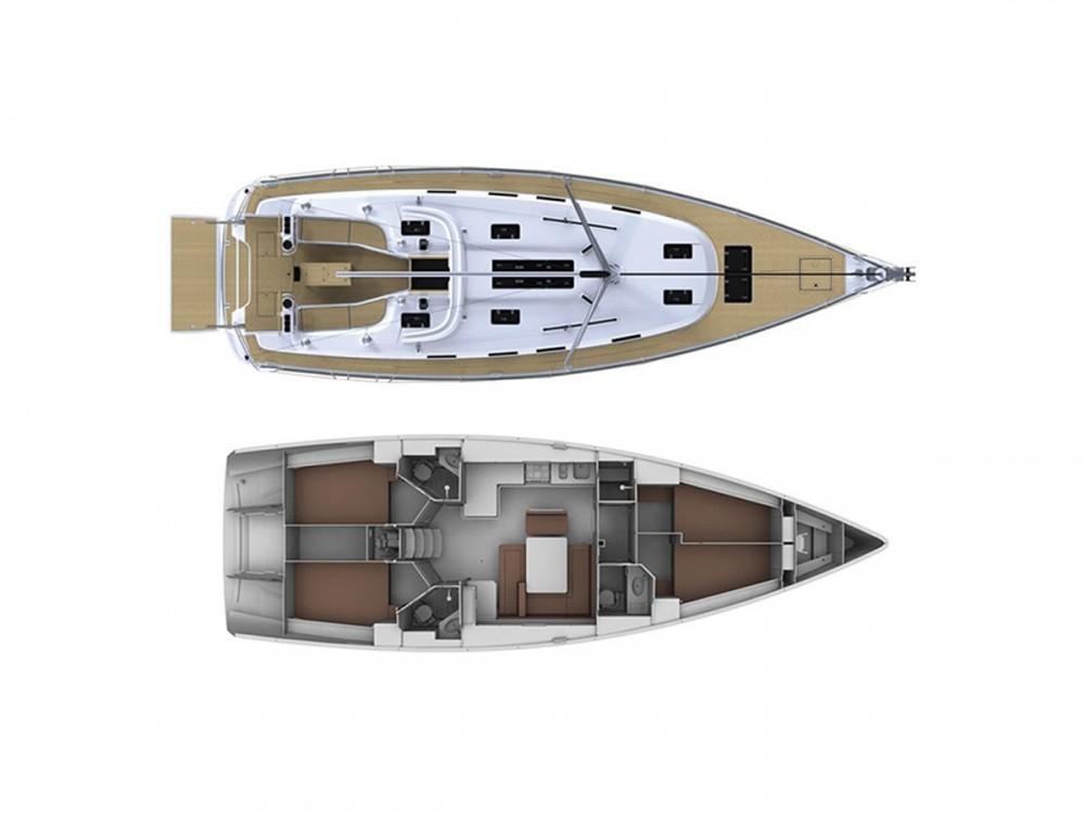 Bavaria Bavaria Cruiser 45 zwischen Privatpersonen und professionellem Anbieter Lavrion