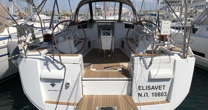 Bootsverleih Jeanneau Sun Odyssey 439 Lávrio Samboat