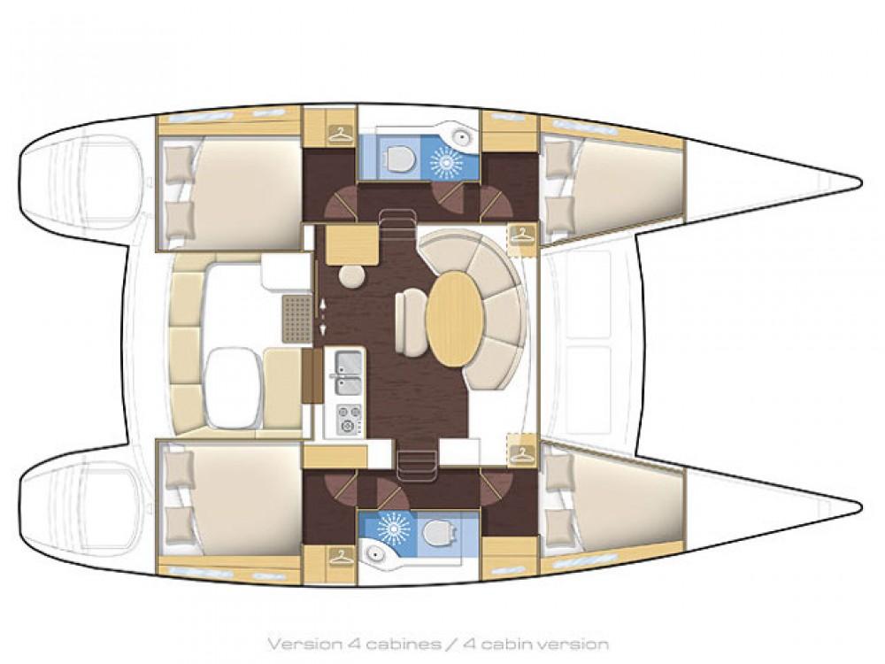 Bootsverleih Sotschi günstig Lagoon 380