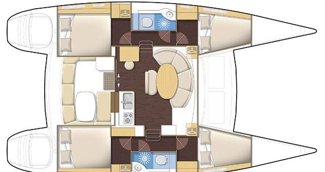 Bootsverleih Lagoon Lagoon 380 Kos Samboat
