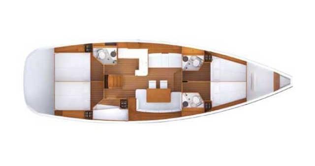 Bootsverleih Jeanneau Jeanneau 53 Kos Samboat