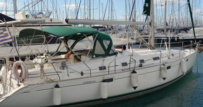 Bootsverleih Athen günstig Oceanis 461