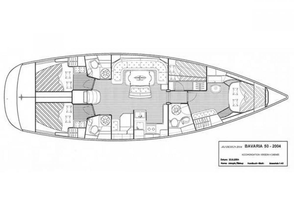 Bootsverleih Sotschi günstig Bavaria 50-4 CBS Cruiser