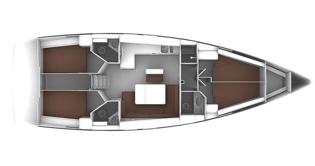 Bavaria Cruiser 46 zwischen Privatpersonen und professionellem Anbieter Lávrio