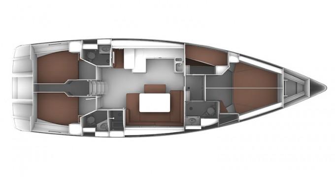 Segelboot mieten in Kos - Bavaria Cruiser 51