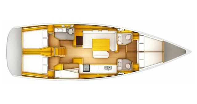 Bootsverleih Sotschi günstig Sun Odyssey 509