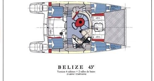 Yacht-Charter in Lefkada - Fountaine Pajot Belize 43 auf SamBoat