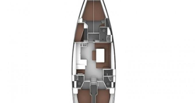 Bavaria Cruiser 51 zwischen Privatpersonen und professionellem Anbieter Rhodes