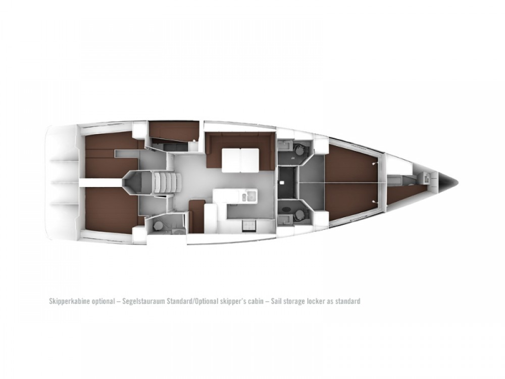 Yacht-Charter in Marina Alimos - Bavaria Bavaria Cruiser 56 auf SamBoat