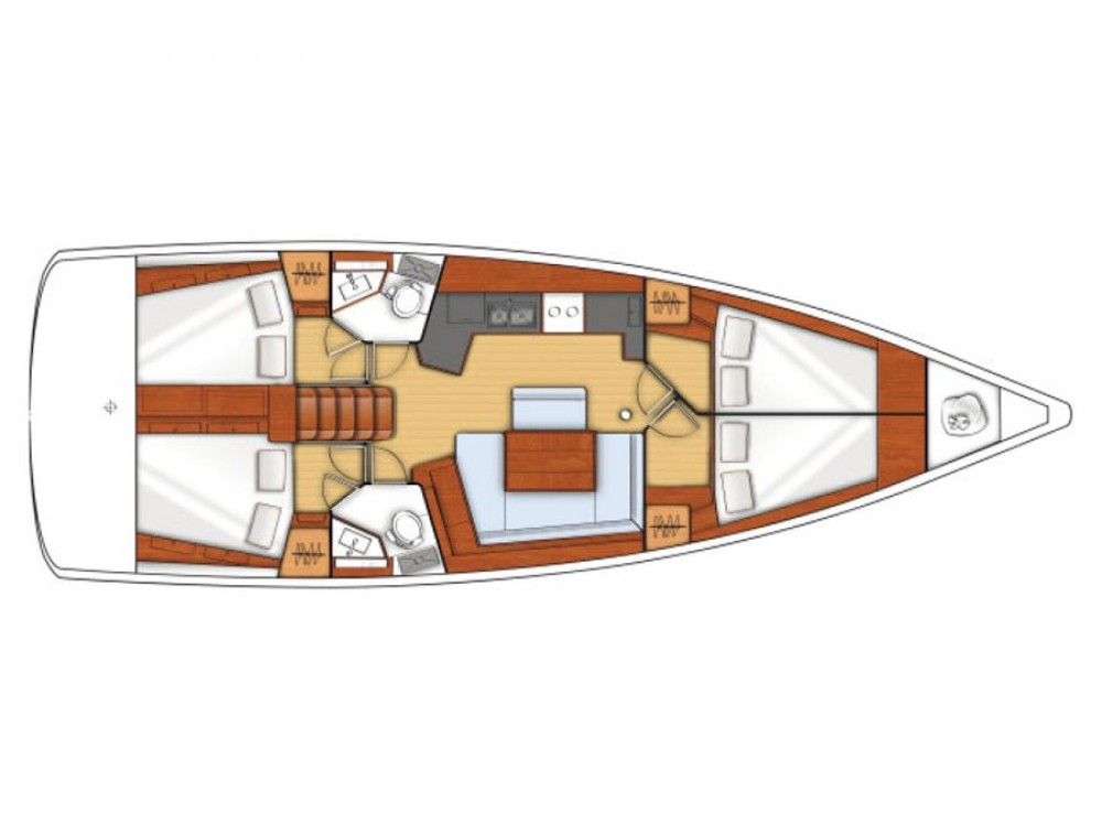 Bootsverleih Bénéteau Oceanis 45 Greece Samboat