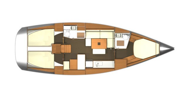 Yacht-Charter in Rogoznica - Dufour Dufour 405 Grand Large auf SamBoat