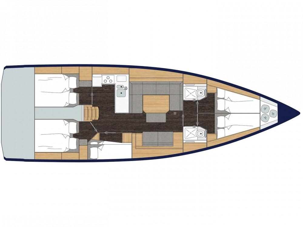 Yacht-Charter in Marina Alimos - Bavaria Bavaria C45 (5 cbs) auf SamBoat