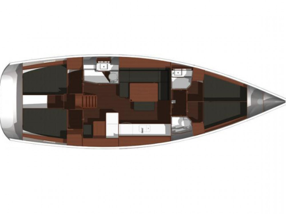 Yacht-Charter in Kaštel Gomilica - Dufour Dufour 445 Grand Large auf SamBoat